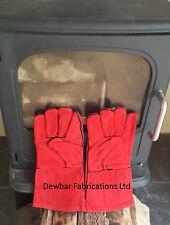 Resistente al calor Guantes De Cuero-woodburner / Fuego / Estufa / chiminea / Bbq