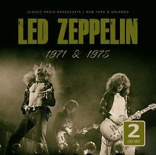 LED ZEPPELIN New Sealed 2020 LIVE 1971 & 75 CONCERTS 2 CD SET