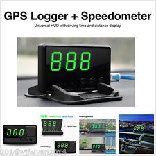 Universal GPS HUD Head Up Display MPH / KM/h Speedometer Car Overspeed Alarm Kit