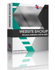 Backup Software for your website, blog, shop, ftp, php, html, MySQL and more.