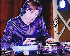 DJ Martin Solveig Autographed 8x10 Photo (Reproduction)  1