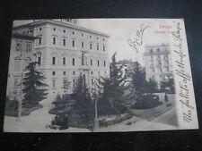 PERUGIA  Palazzo Cesaroni  viaggiata 1903