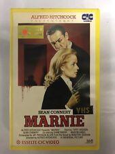 Marnie Ex-Rental Vintage Big Box VHS Tape English with dutch subs
