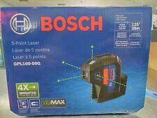 Bosch Gpl100 50g Five Point Self Leveling Alignment Laser Black