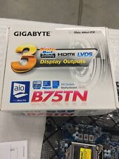 GIGABYTE GA-B75TN LGA1155 Intel DDR3 MINI ITX MOTHERBOARD (5Pack)
