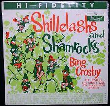 BING CROSBY - SHILLELAGHS AND SHAMROCKS VINYL LP AUSTRALIA