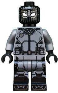 LEGO Marvel Far From Home sh578 76128 Spider-Man Black and Gray Brand NEW