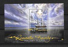 "Pitcairn Islands - ""SHIPS ~ ROMANTIC BOUNTY"" MNH MS 2012 !"