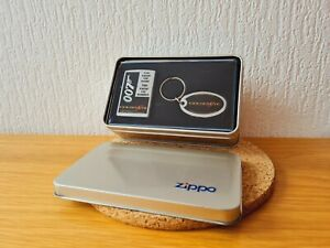 1 x Zippo James Bond 007 in Box + Keyring