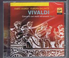 FABIO BIONDI CD NEW VIVALDI EUROPA GALANTE VOL.2