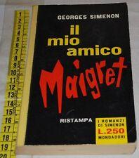 SIMENON Georges - IL MIO AMICO MAIGRET - Mondadori - libri usati