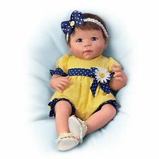 Ashton Drake - You Are My Sunshine Weighted Baby Doll by Linda Murray