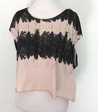 AllSaints Serpine Mist Quartz Pink Top. NWT Retail $70 Price $38 Size L