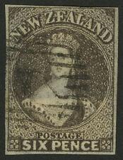 New Zealand   1862-63   Scott #   14d    USED