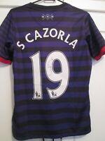 Santi Cazorla Arsenal 2012-2013 Signed Away Football Shirt  COA