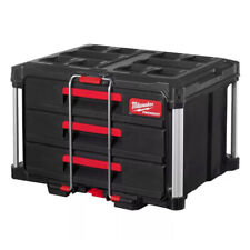 MILWAUKEE PACKOUT™ Cassettiera Sistema Modulare Organizzazione Porta Attrezzi
