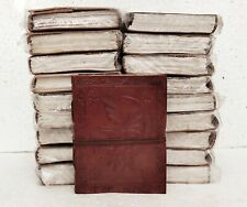 Leather Journal Diary Notebook Handmade Blank Travel Notepad Lot of 18