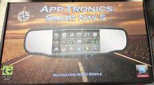 App-Tronics SmartNav 5 Rearview Mirror/Monitor w/Android OS/GPS/Rear View Camera