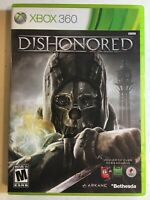 Dishonored (Microsoft Xbox 360, 2012) Complete, Excellent Condition!