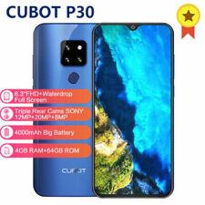 "6.3"" Cubot P30 4G Smartphone Android 9.0 Helio P23 Octa Core 4G+64GB Fingerprint"