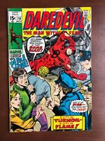 Daredevil #70 (1970) 7.5 VF Marvel Key Issue Comic Bronze Age Stan Lee