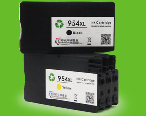 for HP 954XL Ink Cartridge OfficeJet Pro 7740 8210 8710 8720 8730  4pcs/set