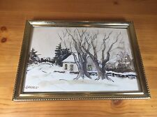 "Phil Gredell Art Original 6.5""x4.25"" Pencil Paint"