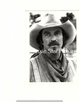S501c Tom Selleck close up Quigley Down Under 1990 6 x 8 vintage photograph *