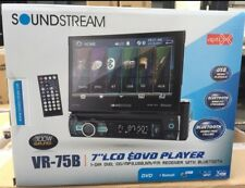 Soundstream VR-75B 1-DIN Bluetooth In-Dash DVD/CD/AM/FM Car Stereo Receiver NEW
