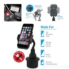 Adjustable Universal Car Cup Holder Mount Cell Phone GPS Mobile Phones