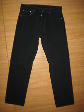8479 Levi's blue vintage 501 jeans overdye blue 34x32 made in U.S.A.
