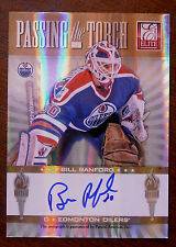 2011/12 BILL RANFORD / DEVAN DUBNYK ELITE PASSING THE TORCH DUAL AUTO