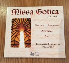 Miss Gotica - Ensemble Organum - Marcel Peres - CD