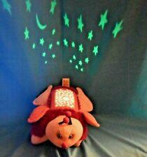 Dream Lites Pillow Pets Butterfly Pink Purple Light-Up Nightlight Stars Pattern