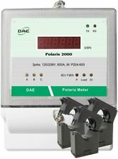 DAE P204-600 KIT, 600A, UL, kWh Smart Submeter, 3P4W, 120/208v, 3 Split Core CTs