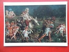 POSTCARD THE TRUIMPH OF THE INNOCENTS - W HOLMAN HUNT