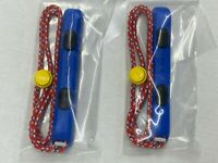 NEW OEM NINTENDO SWITCH MARIO RED & BLUE LEFT JOYCON CONTROLLER WRIST STRAP