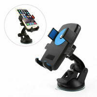 Universal 360° Car Phone Holder  Locking Suction Mount For iPhone Cell Phone GPS