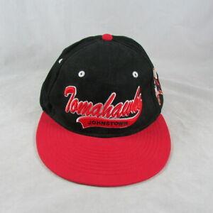 Johnstown Tomahawks Snapback Hat Cap Minor League Hockey Team Pennsylvania