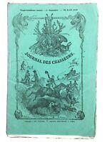 Chasse aux Lions en Algérie 1859 Jules Gérard Rambouillet Chantilly Cerf