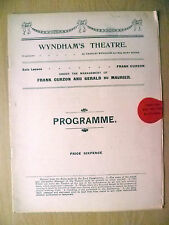 Wyndham's Theatre 1913-Owen Nares,Gladys Cooper in DIPLOMACY by Victorien Sardor