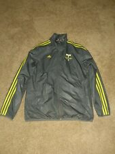 2014 Adidas Portland Timbers Windbreaker Gray Mens Medium