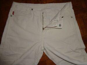 Pantalon mode LEVIS 565 W28 blanc cassé modèle original pr 38 état neuf velours