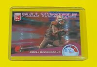 2020 Donruss Elite Odell Beckham Jr Full Throttle PINK FOIL Browns #4 SP 🔥