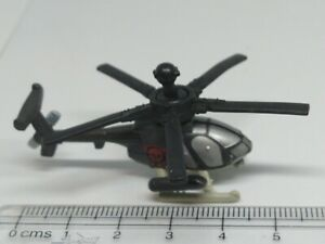 GALOOB MILITARY MICRO MACHINES DEFENDER 530 MG HELICOPTER RED SKULL 💀