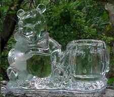 Lenox WINNIE THE POOH and PIGLET 24% lead crystal light of friendship VOTIVE