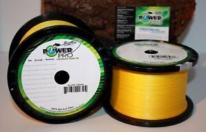 POWER PRO Gelb Yellow Braid 10m 0,10mm 0,13 0,15 0,19 0,23 0,28 0,32 0,36 Schnur