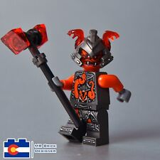 NEW 2017 LEGO NINJAGO Slackjaw Minifigure With Weapon From Set 70621 Hands Time