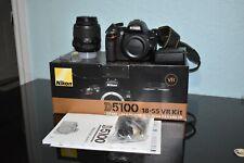 Nikon D5100 Full Kit w/ Box AF-S DX VR 18-55mm
