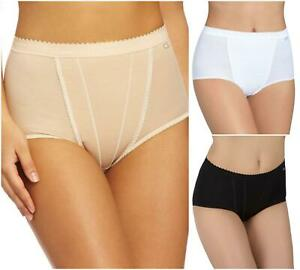 Sloggi Light Control Maxi Brief 2 Pack 10037875 Womens Knickers Shaping Lingerie